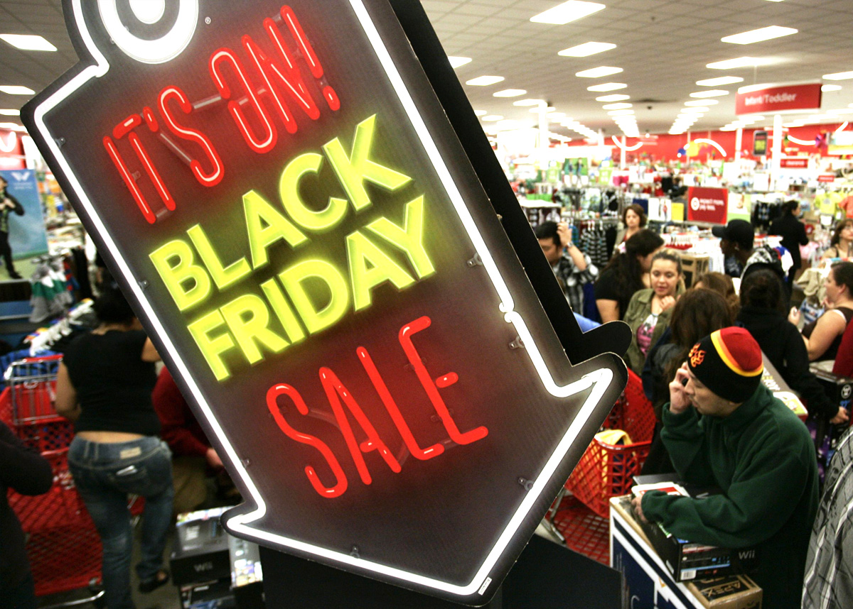 Грандиозная распродажа «Черная пятница»