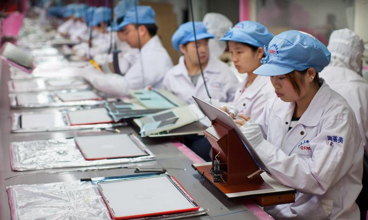 Apple не улучшила условия труда для своих рабочих в Китае