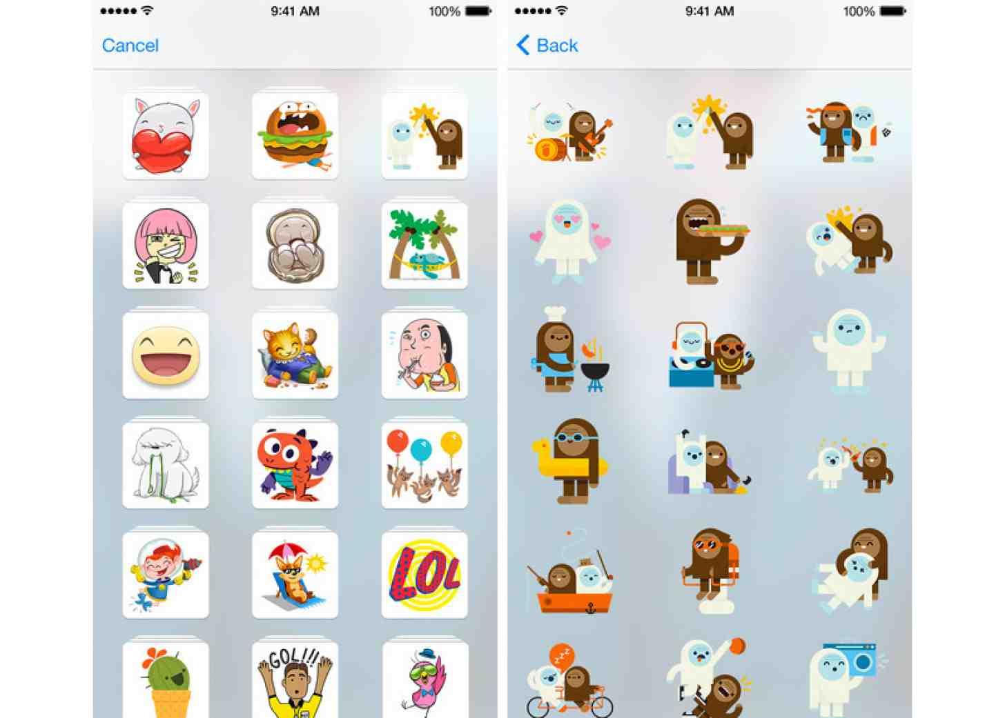 В Facebook появился новый сервис для iOS — Stickered