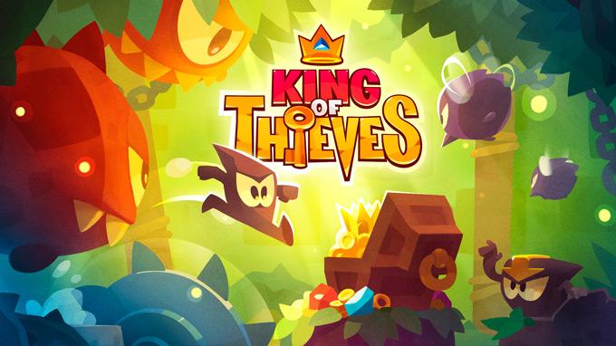 Дебют многопользовательской игры King of Thieves, производства Cut the Rope