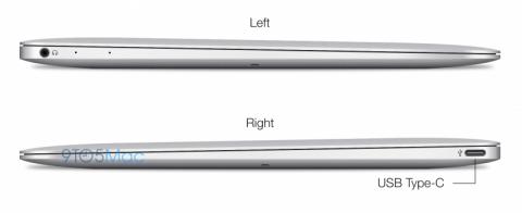 MacBook Air сделает ставку на USB Type-C