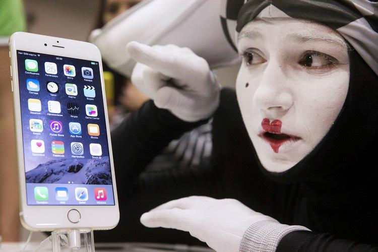 Запрет на продажу продукции Apple на территории Крыма