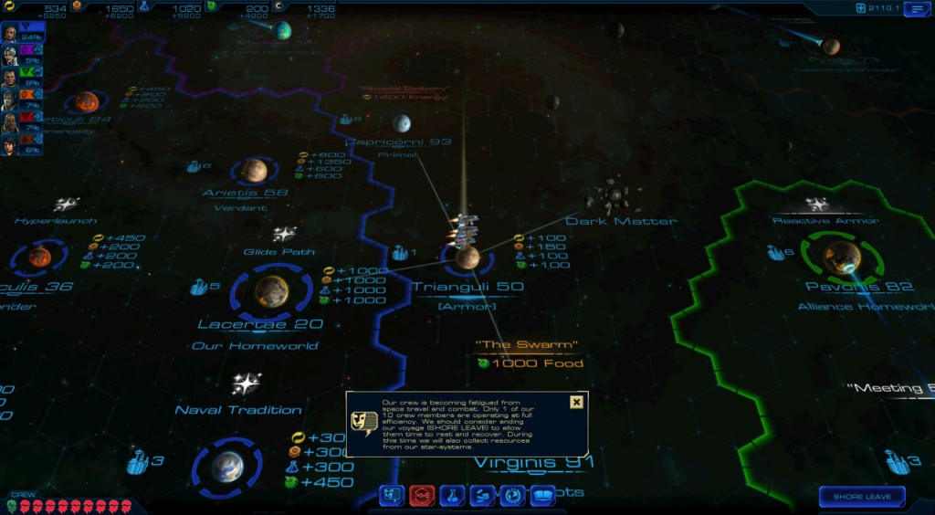 Новая игра во вселенной Civilization - Sid Meier's Starships