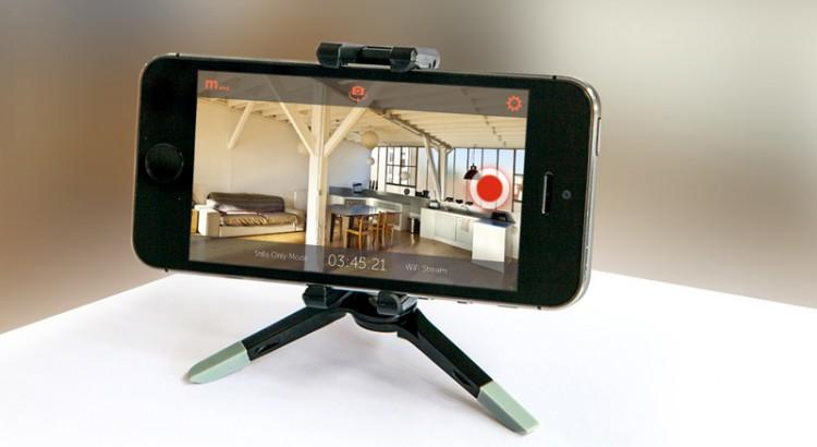 Приложение, превращающее гаджет в камеру видеонаблюдения