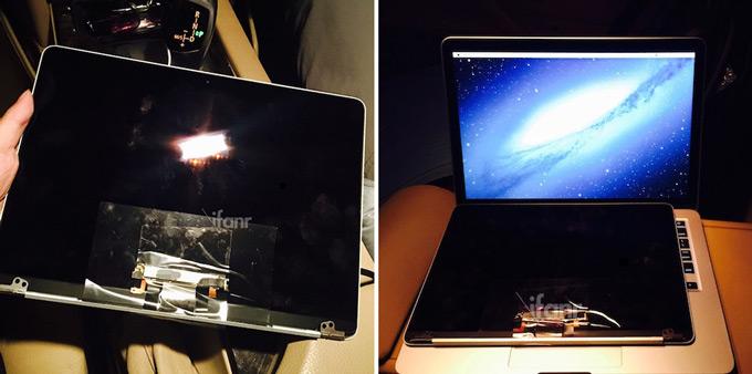 Китайцы слили фотографии MacBook Air 12 в сеть
