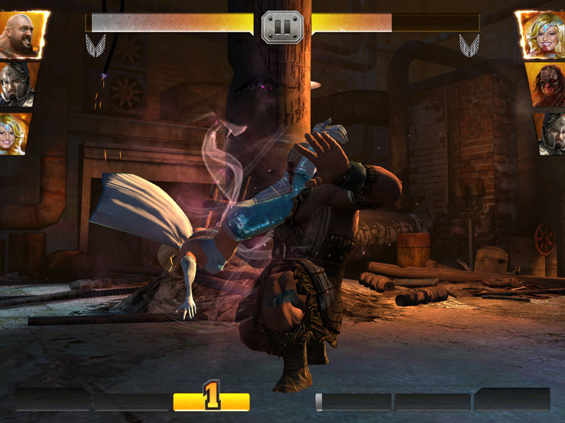 WWE Immortals iOS gameplay