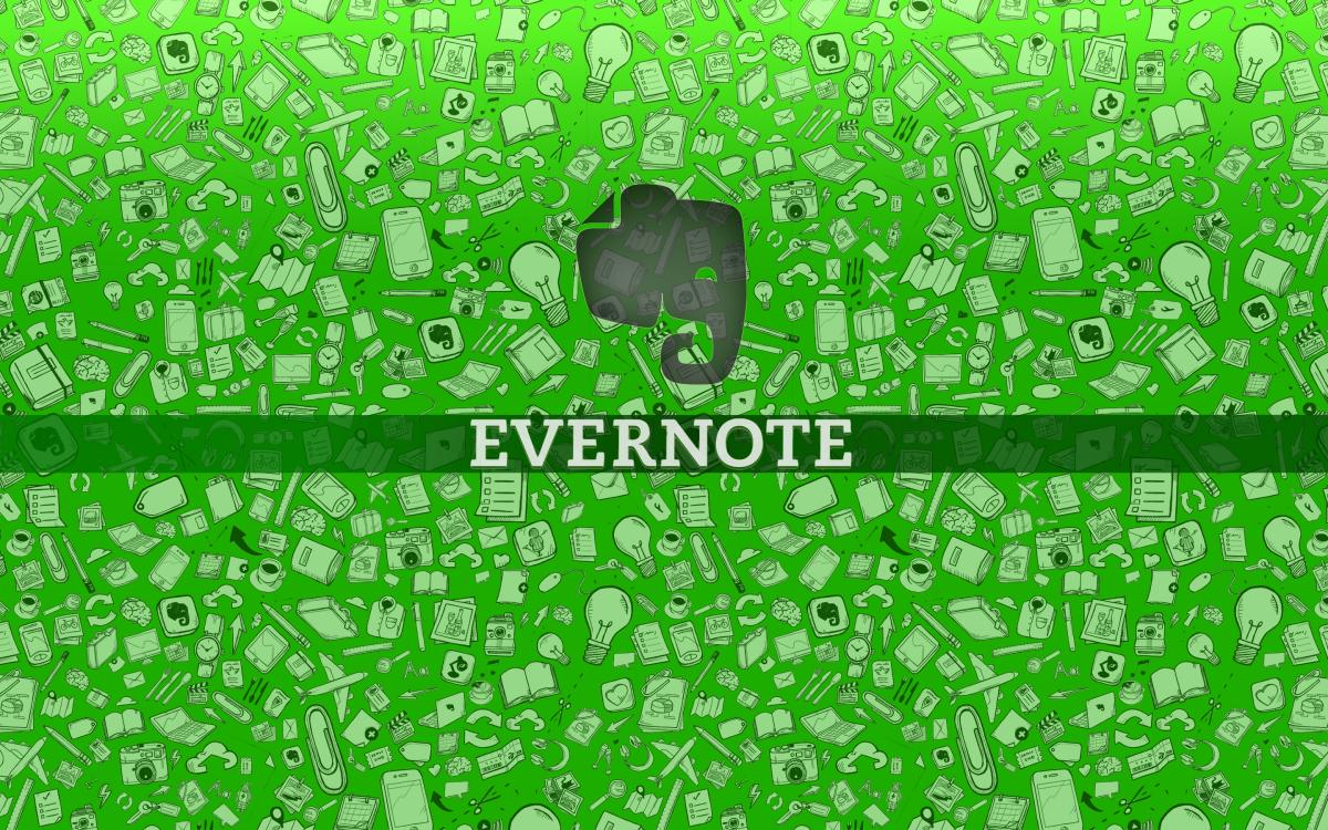 Evernote помогает разложить информацию по полочкам