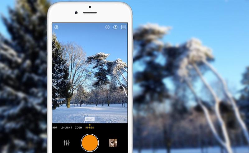 Увеличиваем количество пикселей iPhone до 35