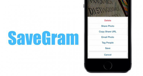 Установите бесплатный твик SaveGram и загружайте фото из Instagram