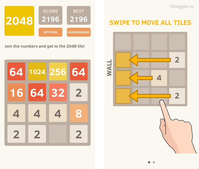 Исследование игры-головоломки 2048