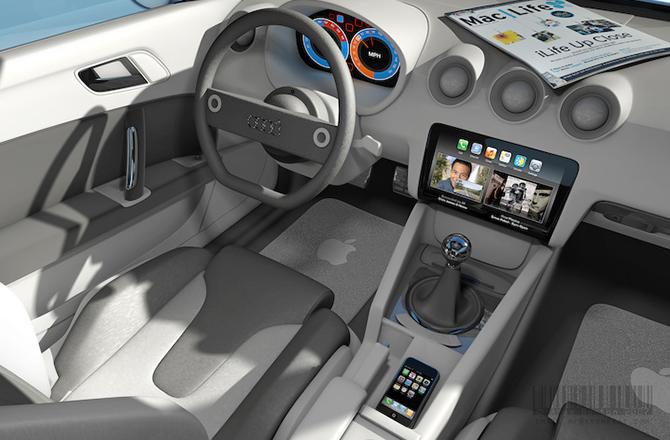 Логотип Apple может появиться на капоте электромобиля