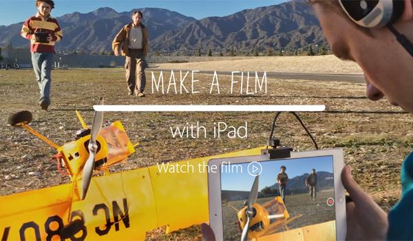iPad Air 2 – отличный инструмент для вашего фильма