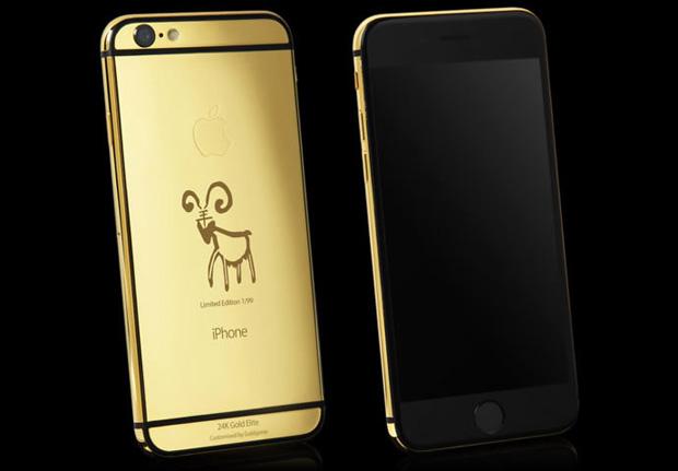 Вышел эксклюзивный iPhone 6 c изображением символа года по восточному гороскопу
