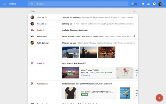 Google представила новый почтовый сервис для iPad