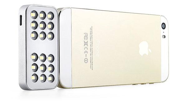 iPhone может получить внешнюю вспышку