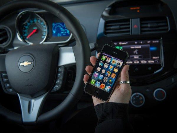 Доступ к автомобилю через iPhone