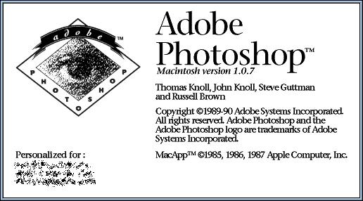 Мастера фотографии ностальгировали с Photoshop 1.0