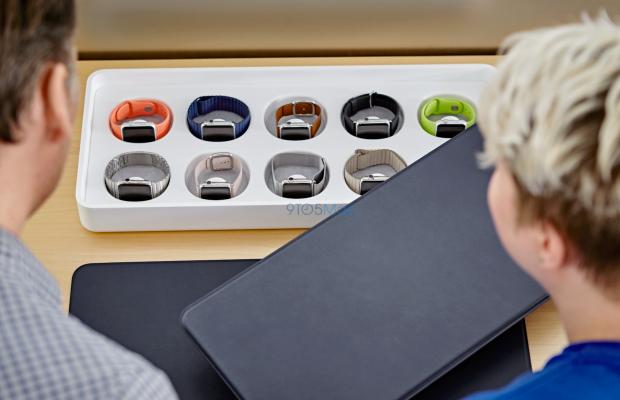 Apple Store готов к встрече первых покупателей Apple Watch