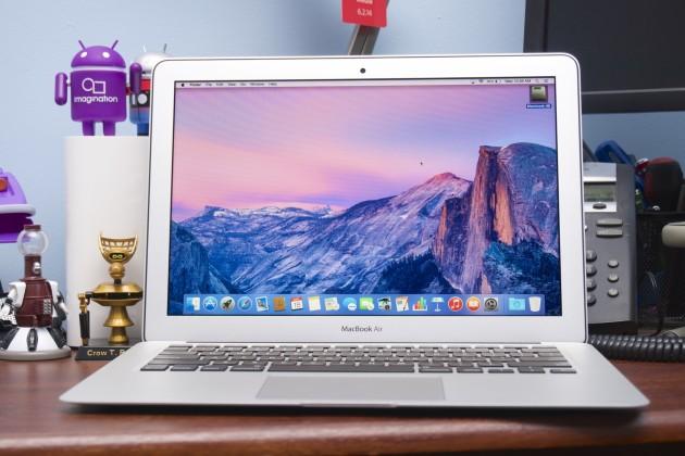 К MacBook Air можно подключать 4-К дисплеи
