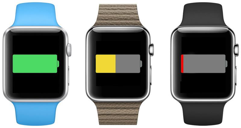 Apple Watch будет работать 5 часов