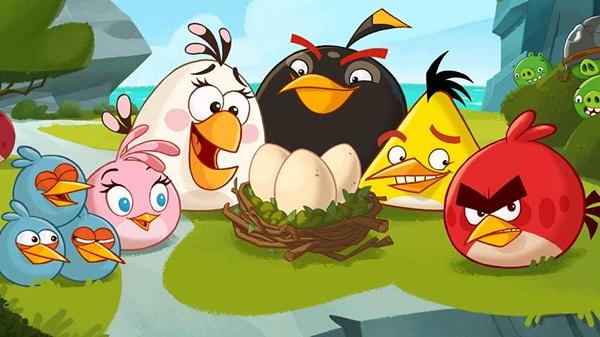 Angry Birds уходит в пике