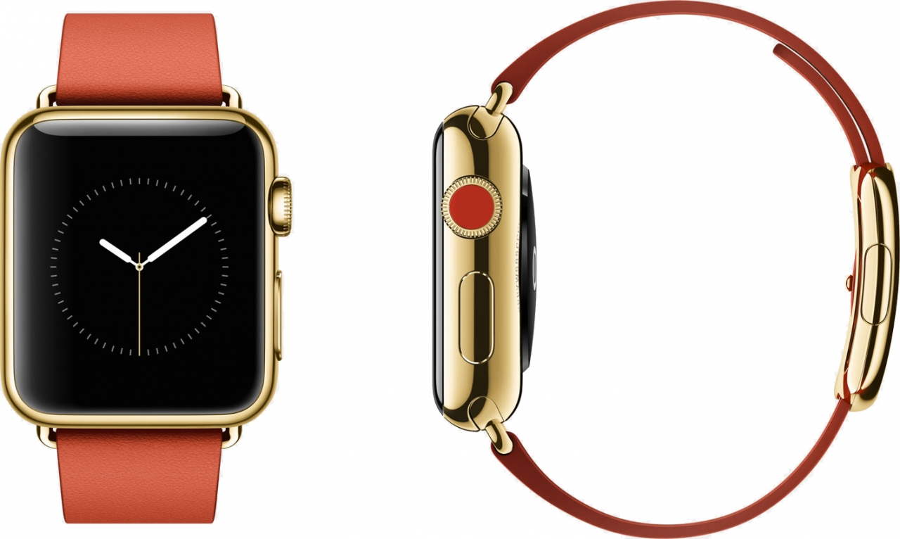 Благодаря Apple Watch появился инновационный сплав золота