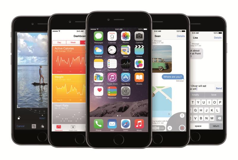 iOS 8.2 вышла в свет