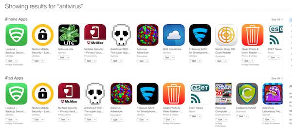 iOS  не нуждается в антивирусных программах