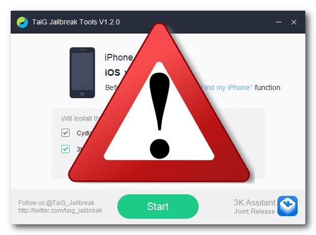 Релиз джейлбрейка iOS 8.2 отложен