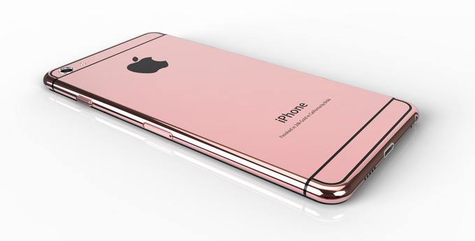 Пойдет ли розовый цвет новому iPhone?