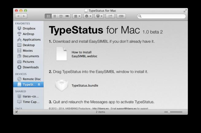 TyperStatus оповестит о предстоящем сообщении