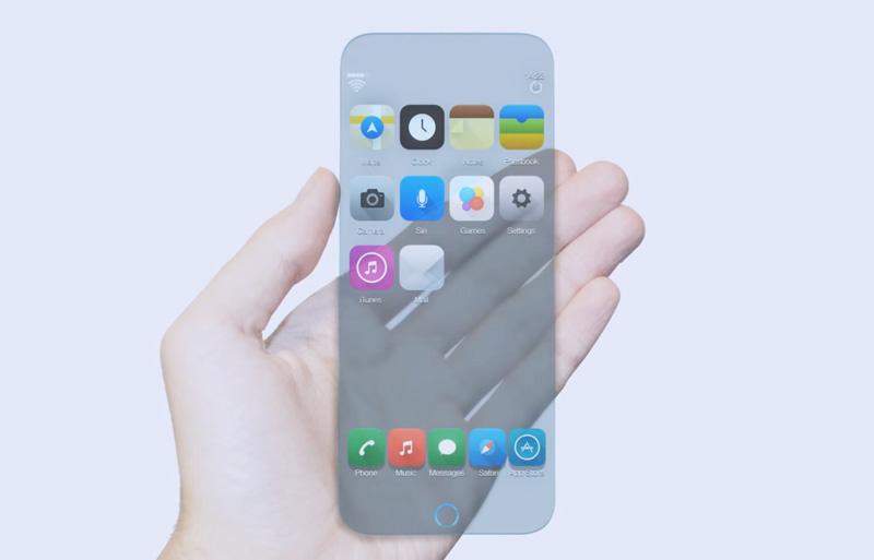 Появился стеклянный концепт iPhone