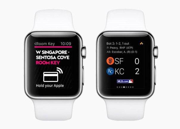 Создано первое российское приложение для Apple Watch