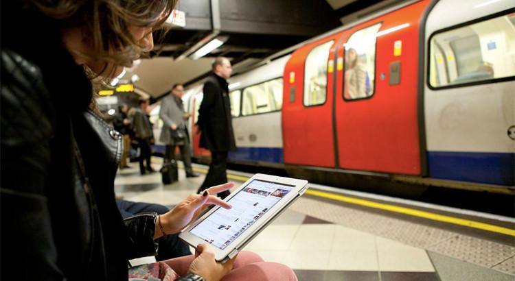 Пассажиры Московского метрополитена предпочитают выходит в Интернет с продуктов Apple