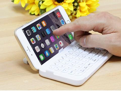 Чехол-клавиатура для iPhone 6 Plus превращает набор текста в комфортное занятие