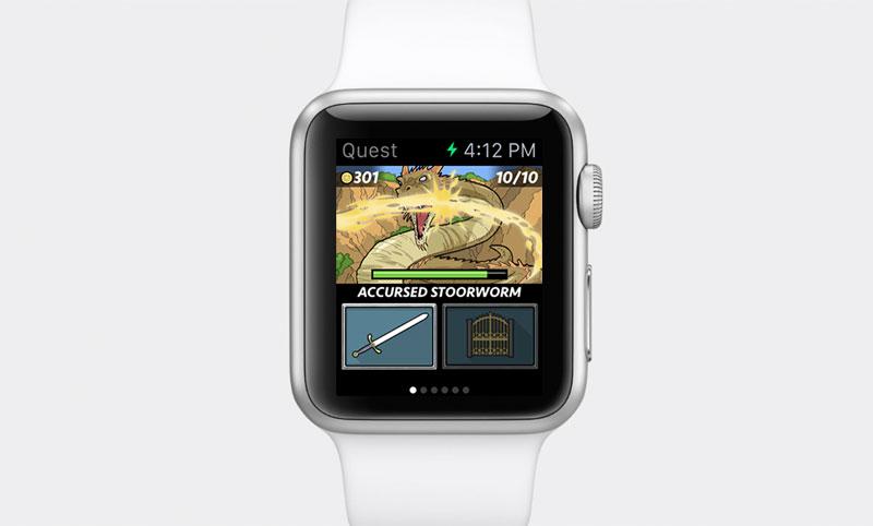 Анонсирована первая ролевая игра для Apple Watch