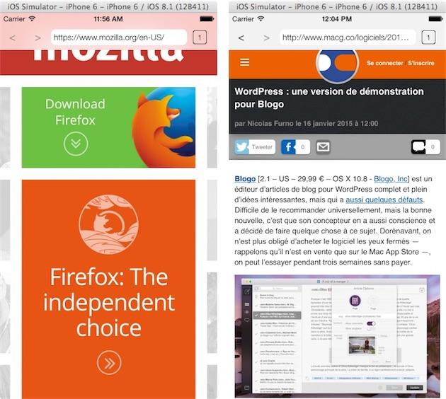 Выйдет Firefox для iOS