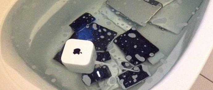 За измену пришлось расплатиться гаджетами Apple