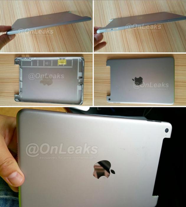 В сеть «слили» фото iPad mini 4