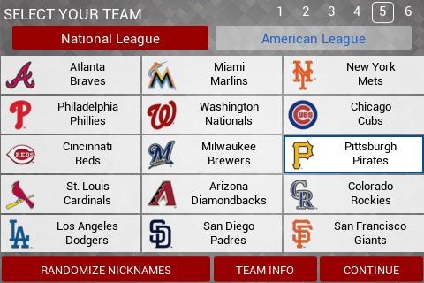 MLB Manager 2015 – современный бейсбол на экране смартфона