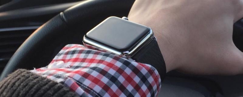 За рулем от Apple Watch лучше отказаться