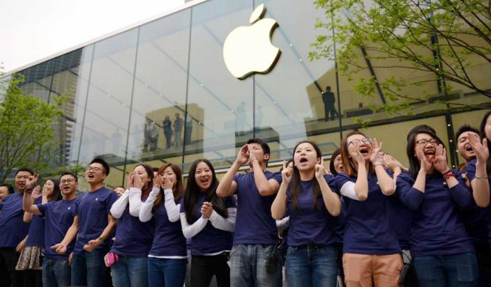 Китай лидер по продажам iPhone