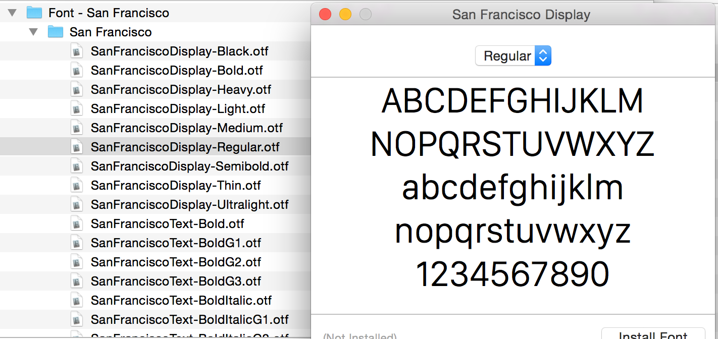 San Francisco «поработит» устройства  Apple