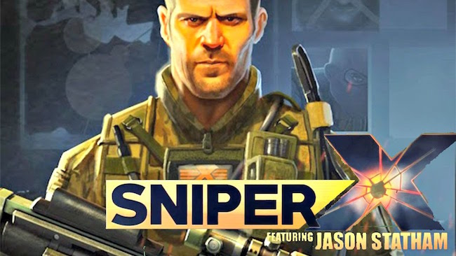 Sniper X with Jason Statham — бок о бок со Стэтхэмом