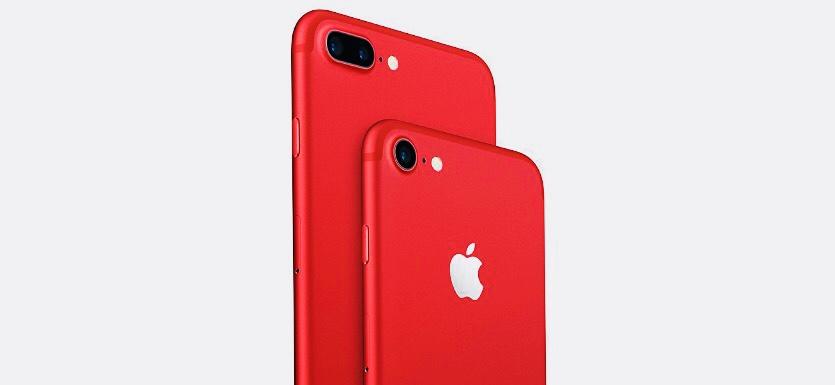 Кажется, завтра представят красные iPhone 8 и iPhone 8 Plus